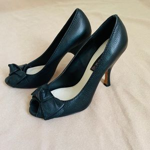 Steven Madden Heels Genuine Leather